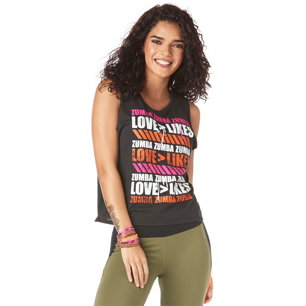 362973a5 Love Over Likes Open Back Tank