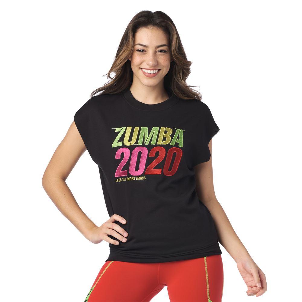 Zumba Woman Track Jacket Bold Black Z1T01404